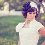 Pictures wedding hairstyles short hair 150x150 účesy foto