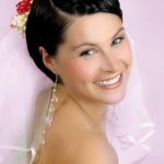 Wedding hairstyles for very short hair 150x150 účesy foto