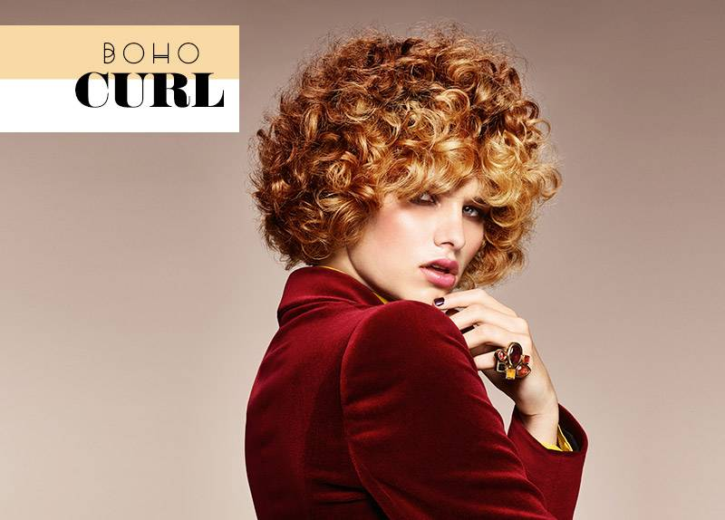 Boho Curl Catwalk Look – Esme