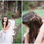 Dievčenský vrkoč Svadobný účes