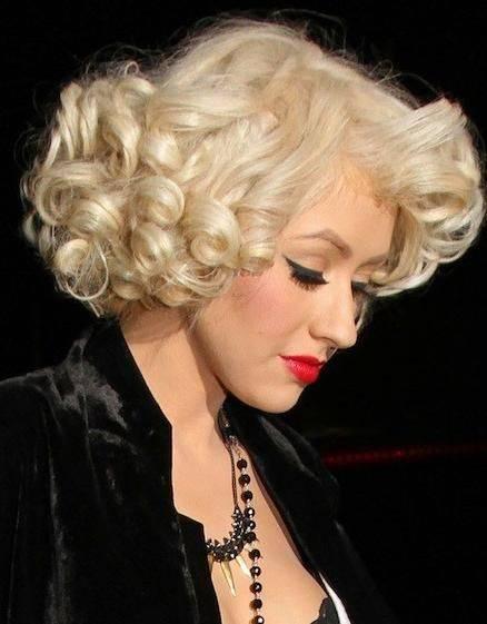 Účes Inšpirovaný Marilyn Monroe