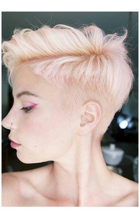 Krátky Ružovkastý Zostrih