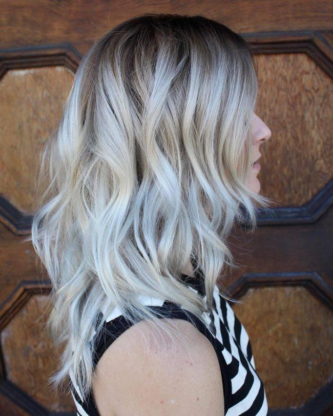 polárna blond farba pre rok 2017