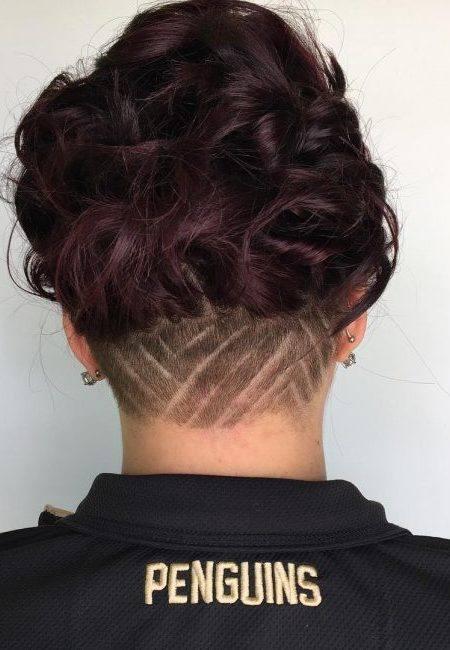 výčes, konťa, drdol, spoločenský účes, krátke vlasy_6