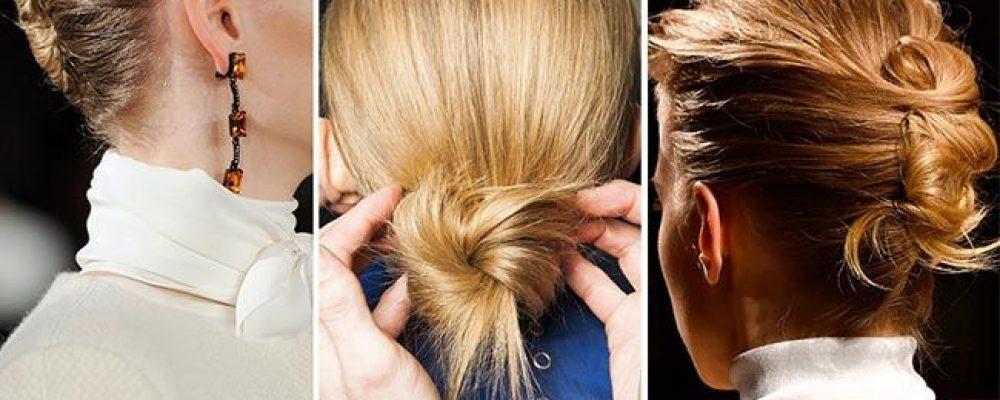 Účesové trendy 2015 – 2016, twist, vlny, koža