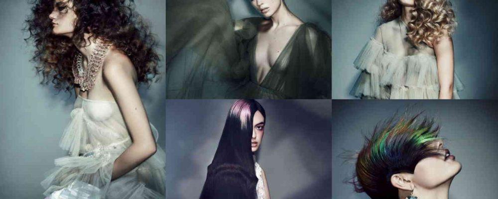 AURA – účesy vytvorené k šatám