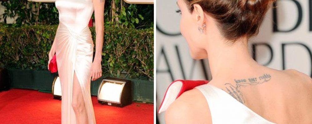 Vytvorte si sama účes, ako Angelina Jolie.