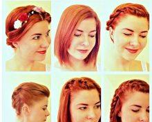 Jeden strih vlasov a 18 rôznych variácii účesu.