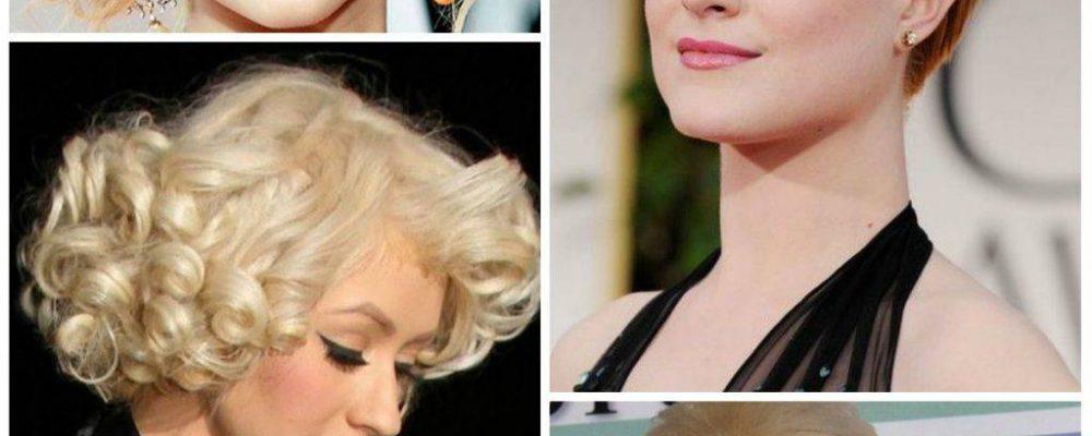 Účesy na stužkovú pre dievčatá s krátkymi vlasmi.